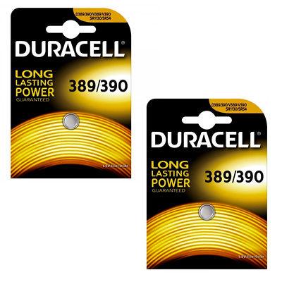 Duracell 389/390 zilver-oxide horlogebatterij