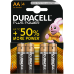 Duracell Plus Power Alkaline AA batterij