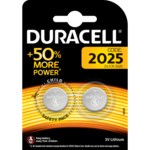 Duracell lithium knoopcel CR2025 blister