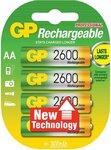 GP 2600 AA NiHM batterij