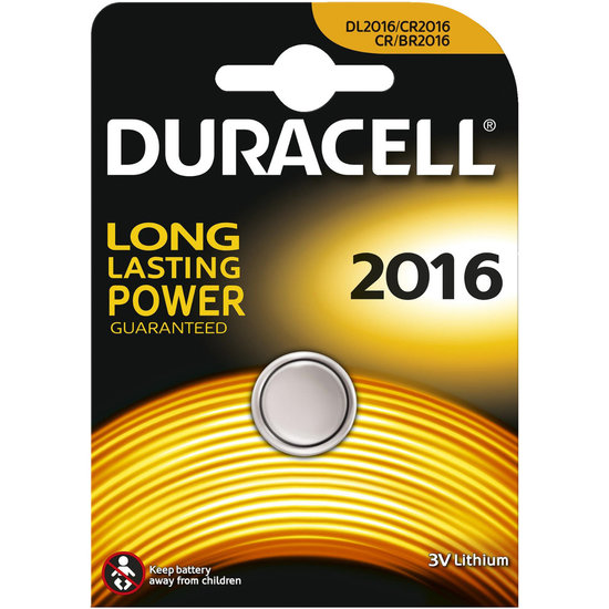 Duracell CR2016 lithium knoopcel