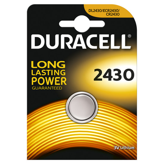 Duracell CR2430 lithium knoopcel