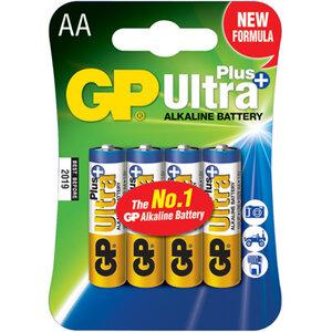 GP Ultra Plus Alkaline AA Mignon penlite, blister 4