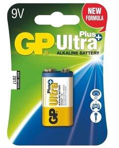 GP Ultra Plus Alkaline 9V blok, blister 1