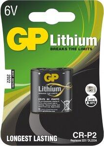 GP CR-P2 Photo Lithium (DL223A), blister 1