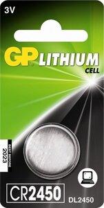 GP CR2450 Lithium knoopcel, blister 1