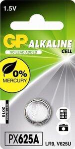 GP LR9 Alkaline knoopcel (625A/V625U), blister 1