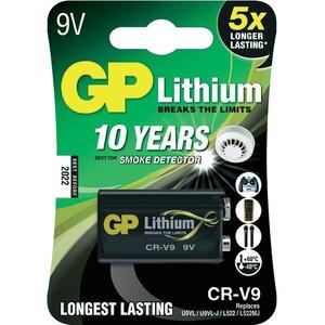GP Lithium 9 Volt E-blok CR-V9, blister 1