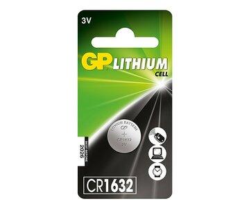 GP CR1632 Lithium knoopcel, blister 1