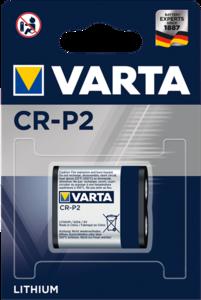 Varta CR-P2 lithium batterij, blister 1