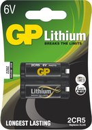 GP lithium 2CR5 blister