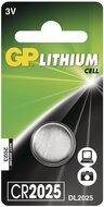 GP lithium knoopcel CR2025 blister