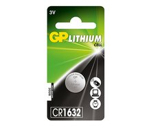 GP lithium knoopcel CR1632 blister
