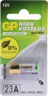 GP 23A MN21 hoogvoltage alkaline batterij blister