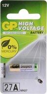 GP 27A MN27 hoogvoltage alkaline batterij blister