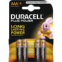 Duracell Plus Power Alkaline AAA batterij