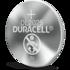 Duracell lithium knoopcel CR2025 batterij