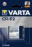 Varta CR-P2 lithium batterij blister